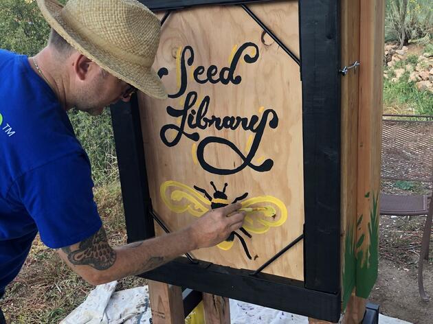 Randall Davey Audubon Center Hosts Native Seed Library
