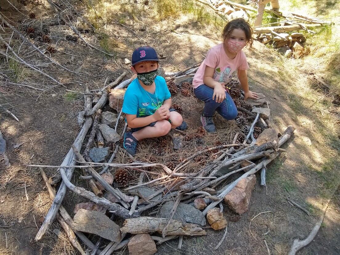 Campers build their own bird nests in Bear Canyon
