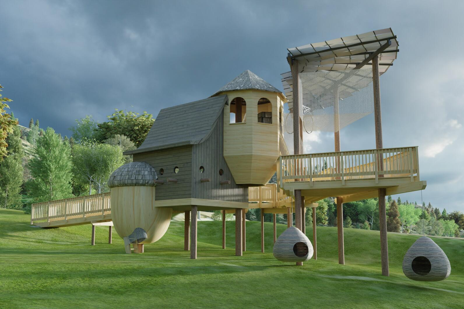 plans for the treehouse