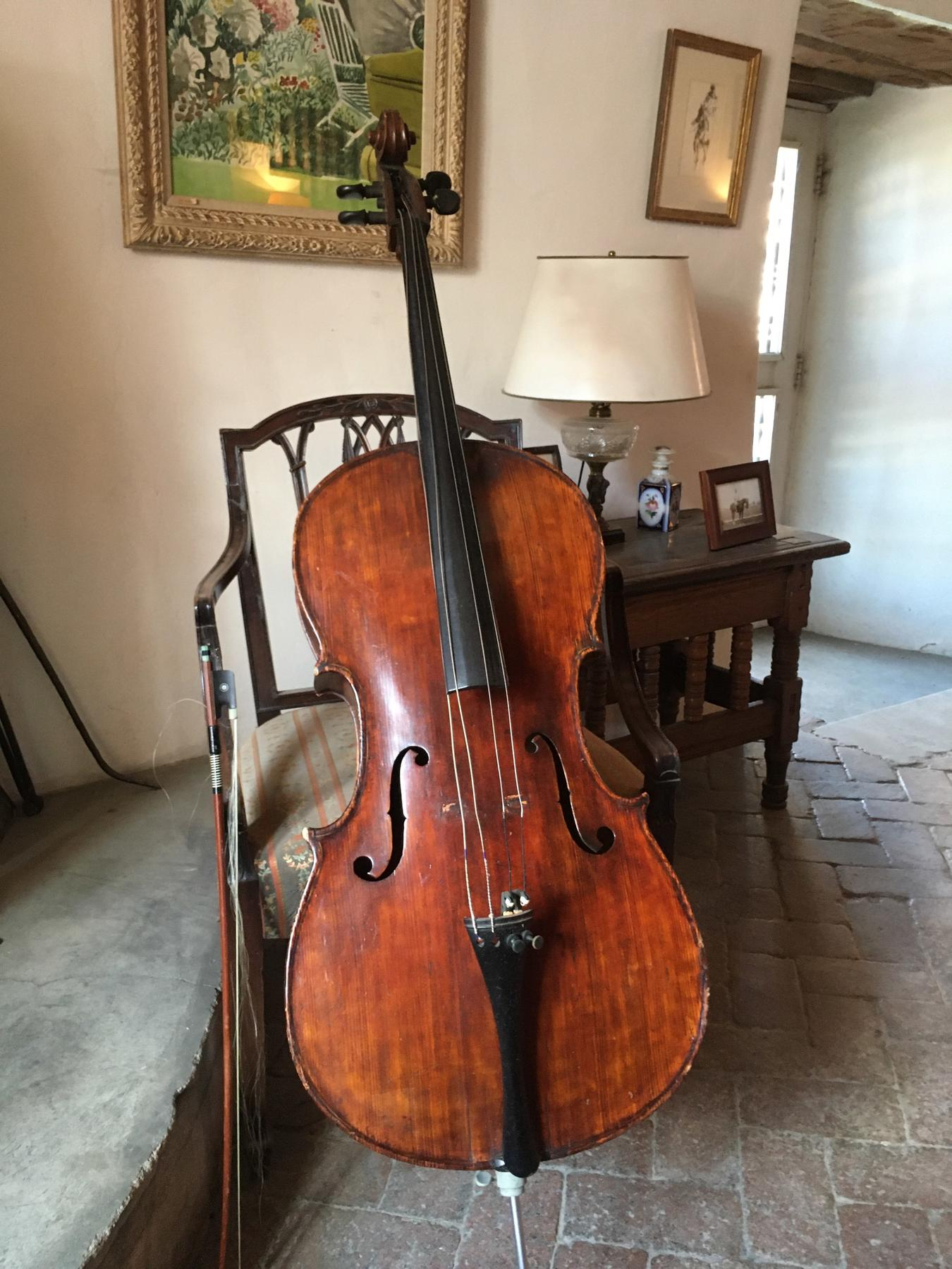 Randall Davey's Cello